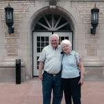 Jim and Betty Stephenson revisit a campus landmark ...