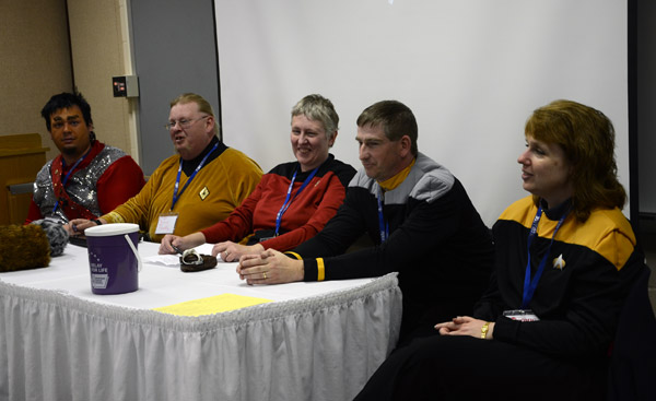 Members of the Harrisburg-based USS Susquehannock Starfleet Chapter