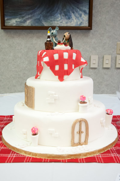A Cake By Marissa R Dimoff Of Mount Union Takes Its Cue From