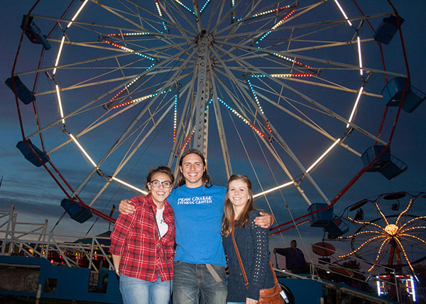 The Homecoming Carnival returns to the Madigan Library lawn from Oct. 9-11.