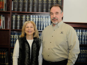Joann and R. David Kay have established a scholarship fund at Penn College to assist students serving in the reserves.