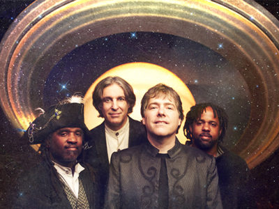 Bela Fleck & the Flecktones will bring their Grammy Award-winning talents to the Community Arts Center stage in Williamsport on Tuesday, March 24. (Photo by Jim McGuire)