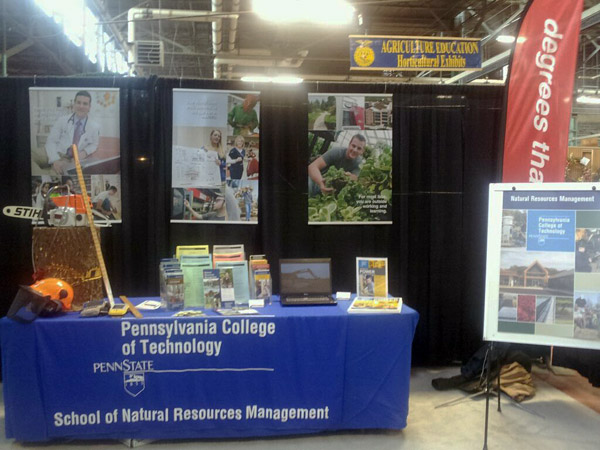 Forest technology tools show the hands-on nature of a Penn College education.