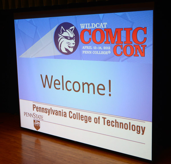 Welcome to Wildcat Comic Con!